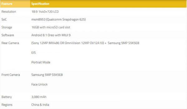 Xiaomi redmi s2 600x349 - Rò rỉ thông tin Xiaomi sắp ra mắt Redmi S2