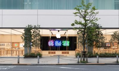 """apple shinjuku featured 400x240 - Mời tải về 9 hình nền """"phong cách Apple Shinjuku"""""""