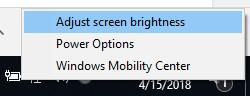 chinh do sang man hinh laptop win 10 5 - Cách chỉnh độ sáng màn hình laptop chạy Windows 10