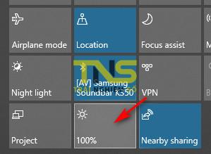 chinh do sang man hinh laptop win 10 7 - Cách chỉnh độ sáng màn hình laptop chạy Windows 10