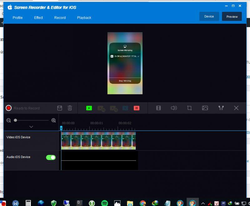 dvdfab screen recorder ios 6 800x661 - Đang miễn phí ứng dụng xuất màn hình iPhone lên PC giá 43USD
