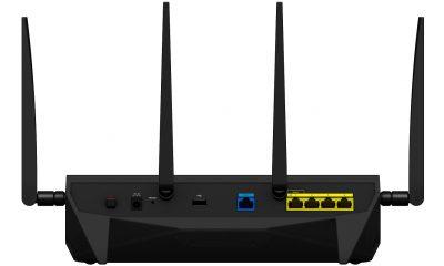 f RT2600ac back 400x240 - Thiết bị định tuyến Router RT2600ac của Synology cung cấp giải pháp kết nối an toàn và nhanh chóng