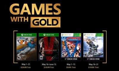 Games with Gold tháng 5/2018