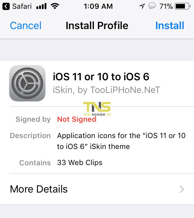 ios 6 style 4 - Cách biến giao diện iOS 11 thành iOS 6 không cần jailbreak