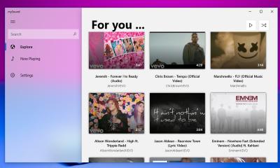 mySound Music Player for Youtube 400x240 - mySound: Ứng dụng UWP mới để xem video YouTube trên Windows 10
