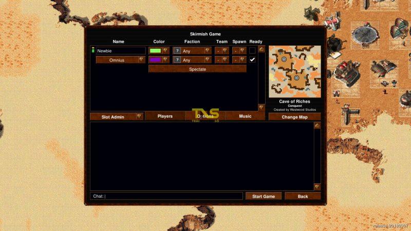 openra 3 800x450 - Chơi miễn phí bộ ba Báo động đỏ, Dune 2000 và Tiberian Dawn