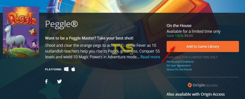 """peggle 1 800x324 - Game bắn bi """"kinh điển"""" Peggle đang miễn phí, mời bạn tải về"""