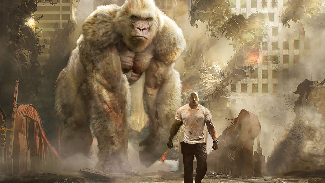 Rampage 2018 movie review