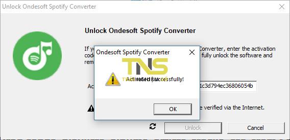 Ondesoft spotify converter activation | Ondesoft Spotify