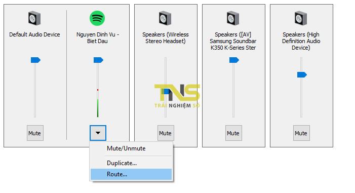 su dung song song tai nghe va loa ngoai tren may vi tinh 5 - Cách sử dụng song song tai nghe và loa ngoài trên máy vi tính