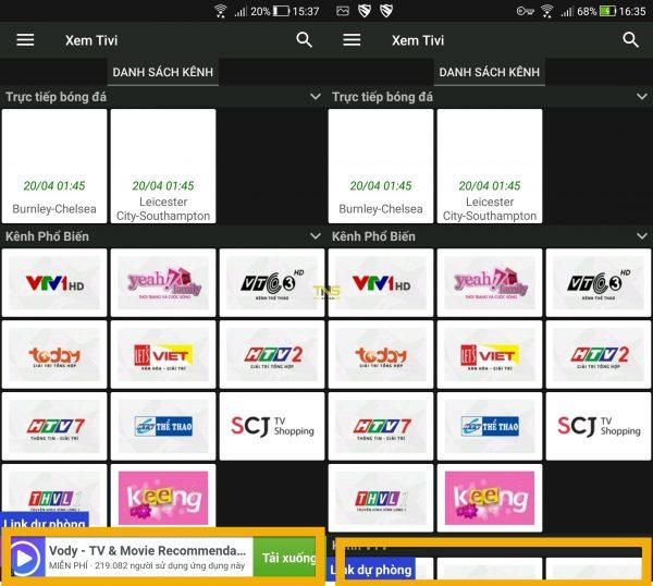 truoc và sau khi dùng blokada 1 600x538 - Blokada: Chặn quảng cáo trên Android không cần Root