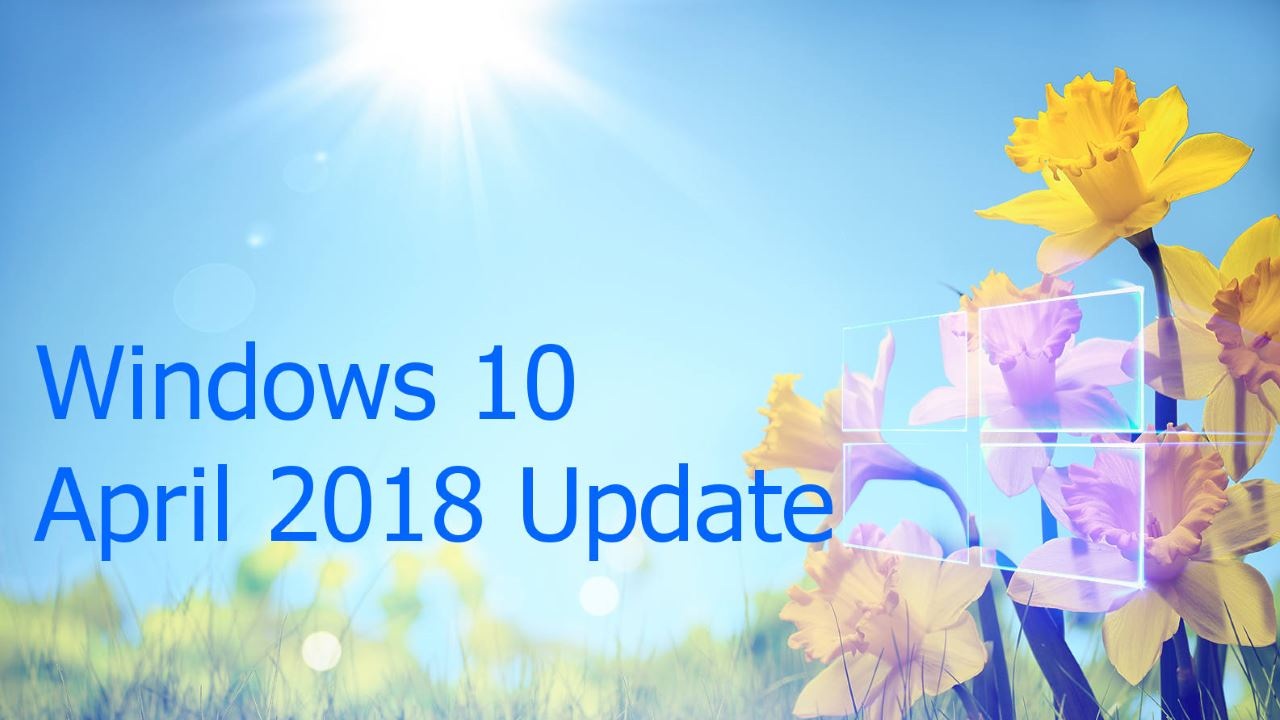 Kết quả hình ảnh cho Windows 10 April Update 2018: What you really need to know