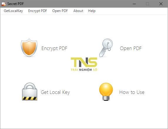 Secret PDF: Mã hóa PDF với hai lớp khóa 2