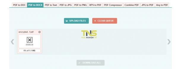 Secret PDF: Mã hóa PDF với hai lớp khóa 4