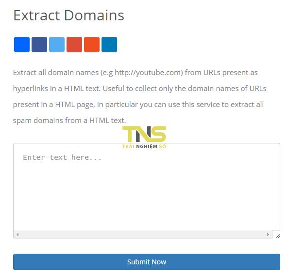 Cách trích xuất URL trên văn bản nhanh nhất 7