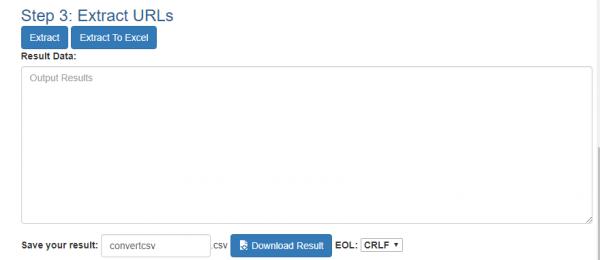 Cách trích xuất URL trên văn bản nhanh nhất 11