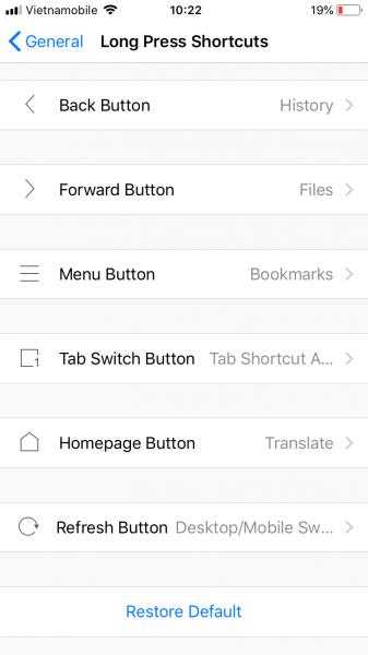 Alook Browser: Trình duyệt thay thế Safari trên iOS 19
