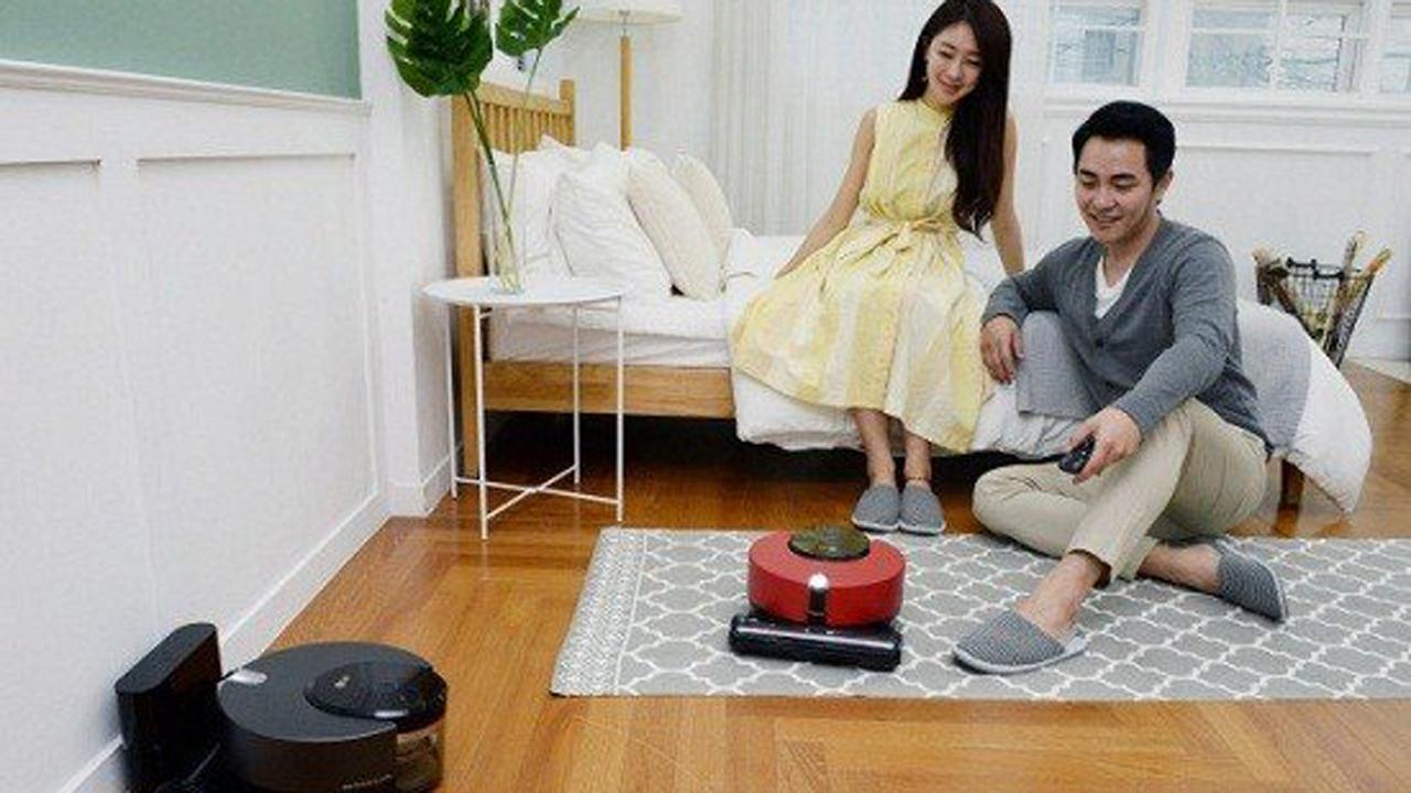 LG R9 ThinQ - LG Cordzero R9 ThinQ: robot hút bụi thông minh