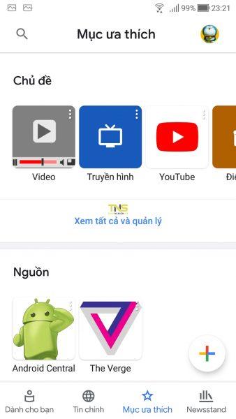 Trải nghiệm Google Tin tức mới 7
