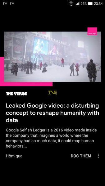 Trải nghiệm Google Tin tức mới 9