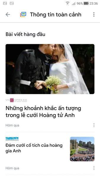 Trải nghiệm Google Tin tức mới 2