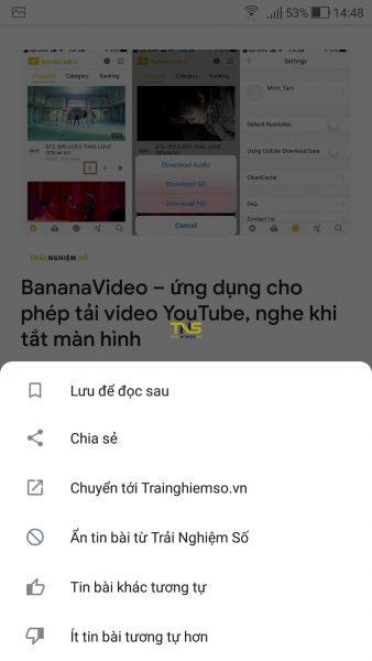 Trải nghiệm Google Tin tức mới 4