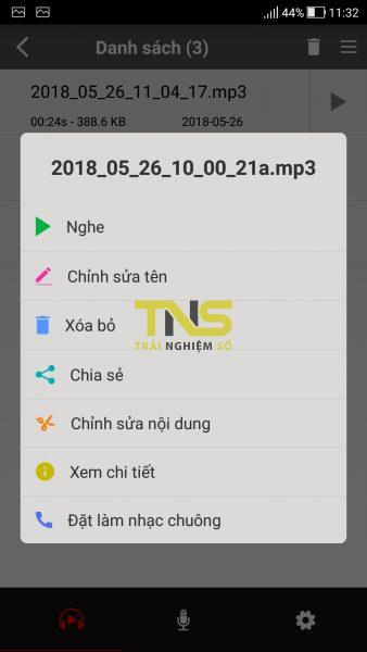 Screenshot 20180526 113234 338x600 - Tải ngay ứng dụng ghi âm Voice Recorder Pro đang miễn phí trên Android