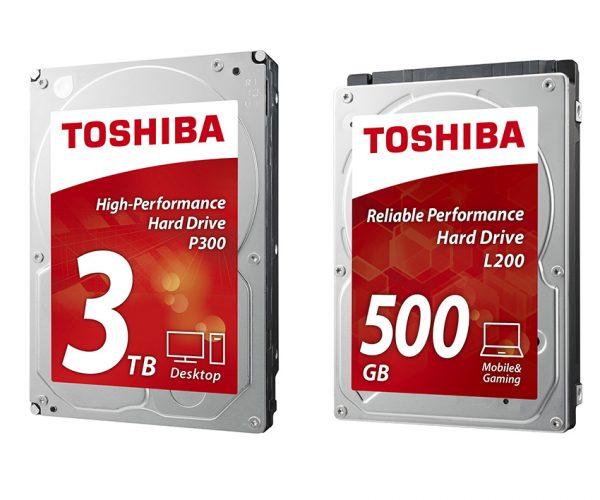 Toshiba HDDs 600x500 - Toshiba tung 6 dòng ổ cứng gắn trong có dung lượng và tốc độ cao