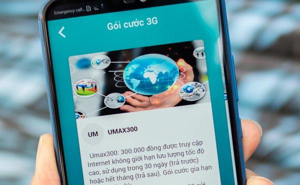 Viettel UMAX300 600x371 - Viettel tung UMAX300 - gói cước 3G không giới hạn dung lượng