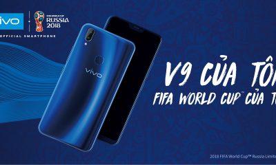 Vivo V9 400x240 - Vivo ra mắt phiên bản giới hạn V9 màu xanh dành riêng FIFA World Cup 2018