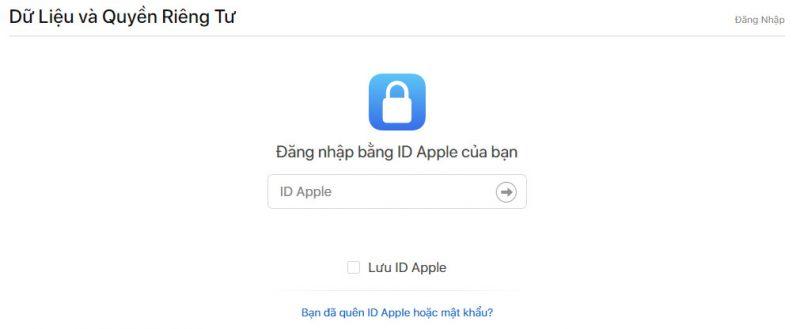 apple privacy download 1 800x329 - Apple đã cho phép tải và sao lưu toàn bộ dữ liệu iCloud