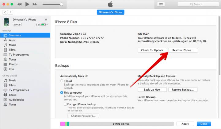 [Cơ bản] Cách reset iPhone bằng iTunes hay iCloud