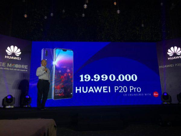 gia Huawei P20 Pro 600x450 - Huawei P20 Pro chính thức ra mắt: 3 camera Leica, chipset AI