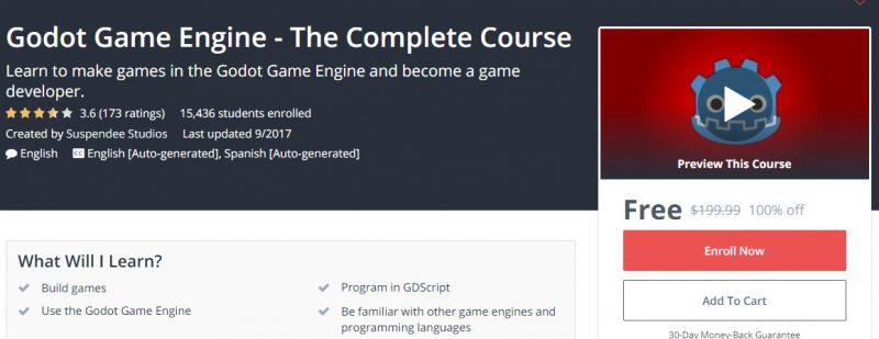 godot game engine 800x309 - Đang miễn phí ba giáo trình phát triển game trị giá 600USD