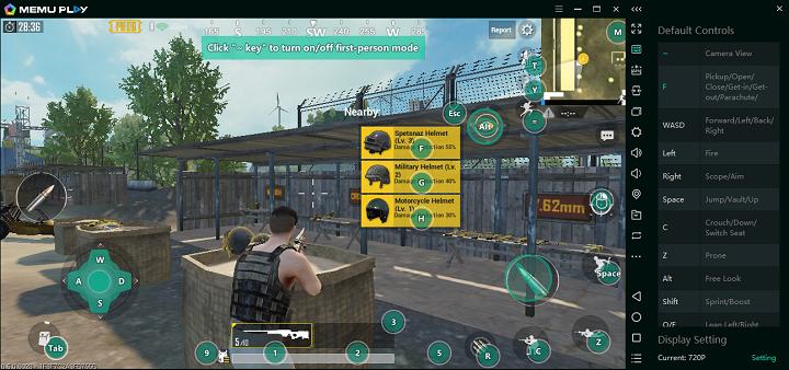 memu pubg - MEmu 5.3.1 - giả lập Android cho PC dành cho game thủ, đã hỗ trợ PUBG Mobile