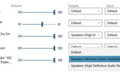 sound multi channel 2 1 400x240 - Cách dùng song song tai nghe và loa ngoài trên Windows 10