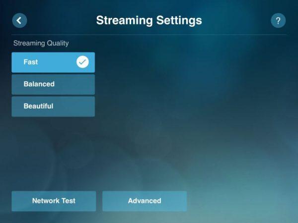 steam link streaming settings 600x450 - Đánh giá Steam Link - khi điện thoại thành máy chơi game PC thứ hai