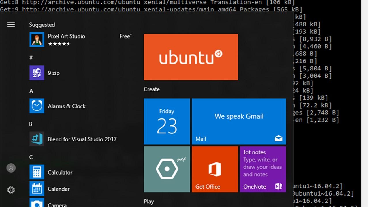 ubuntu windows 10 featured - Ubuntu 18.04 chính thức có mặt trên... Windows 10