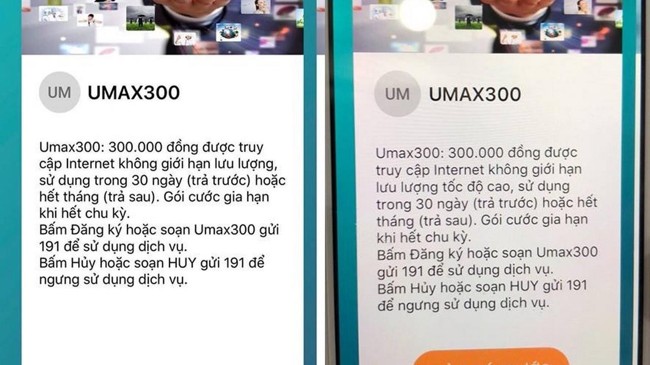 umax300 2 1 - Sự thật về gói cước UMAX300
