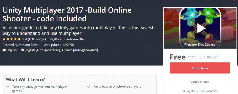 unity multiplayer 800x316 - Đang miễn phí ba giáo trình phát triển game trị giá 600USD