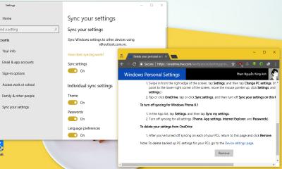xóa cài đặt đồng bộ trên windows 10 400x240 - Cách xóa cài đặt đã đồng bộ hóa trên Windows 10