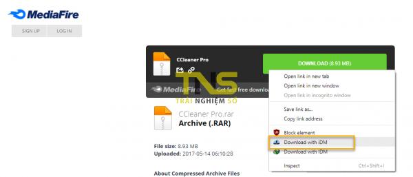 iDownload Manager: Trình tăng tốc download miễn phí và nhanh như IDM 9