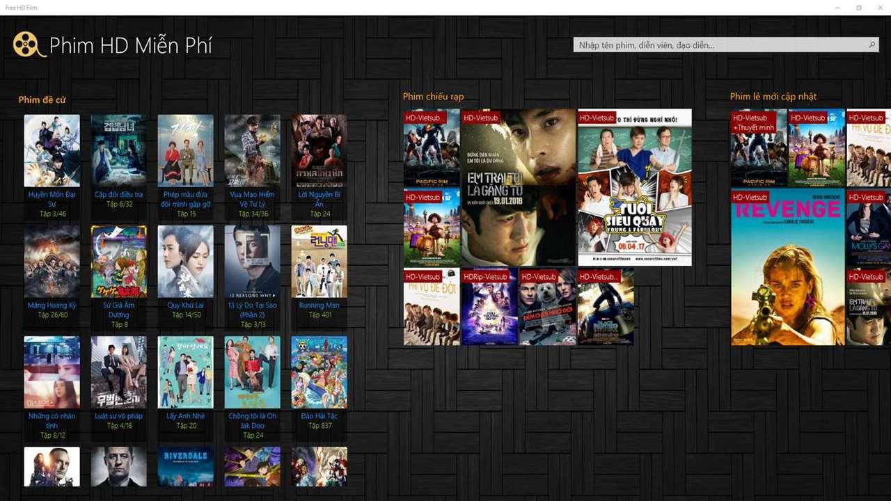 Free HD Film1280x720 - Free HD Film: Xem miễn phí hàng ngàn phim chất lượng HD tiếng Việt