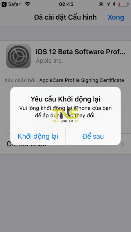 IMG 0050 451x800 - Đã có iOS 12.1.1 beta 2, mời bạn cập nhật