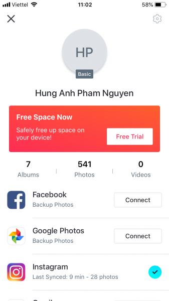 IMG 0564 337x600 - Cách sao lưu hình ảnh trên iOS, Android không giới hạn dễ dàng