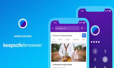 Keepsafe Browser 400x240 - Keepsafe Browser: Trình duyệt gọn nhẹ và an toàn cho iOS, Android