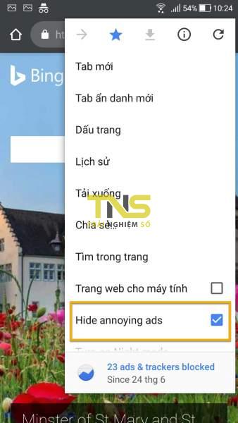 Screenshot 20180625 102442 338x600 - Kiwi Browser: Trình duyệt dựa trên Chromium có khả năng chặn quảng cáo