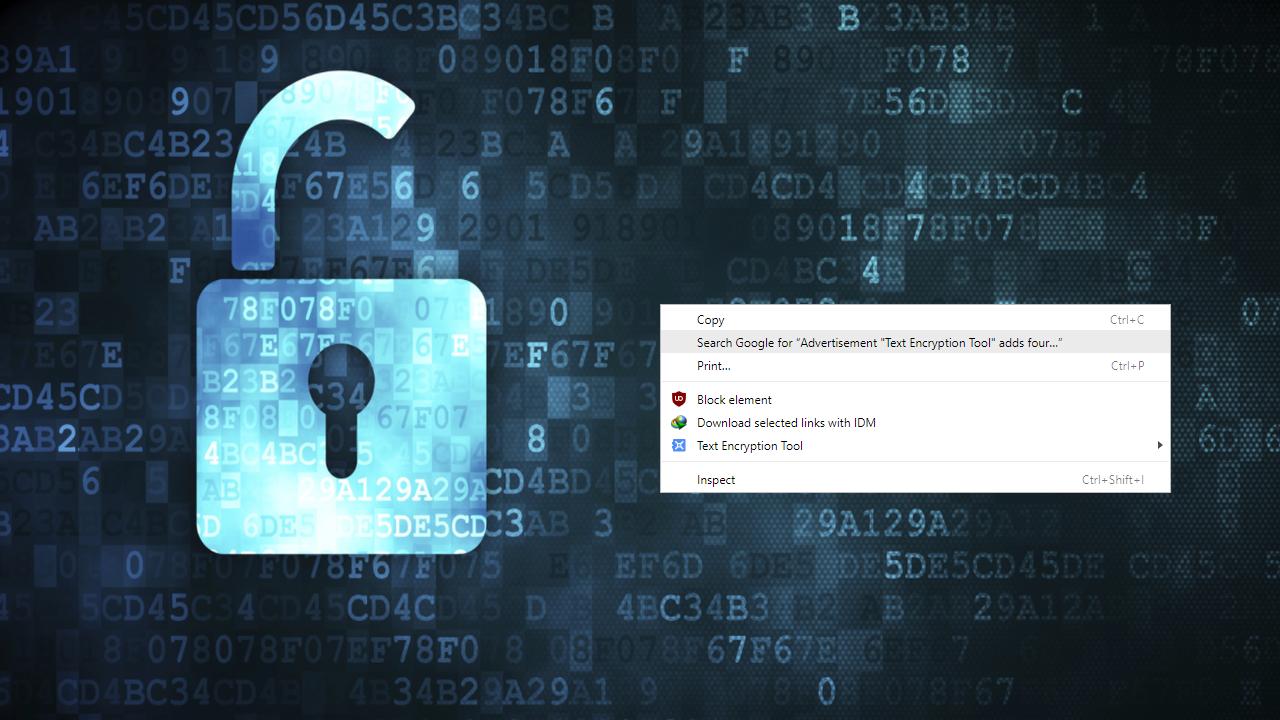 Text Encryption Tool - Mở tab trên Chrome trong cửa sổ Focus Mode