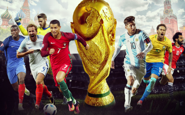 World cup 2018 600x373 - World Cup 2018: khán giả được xem cả trên truyền hình, Internet, thiết bị di động
