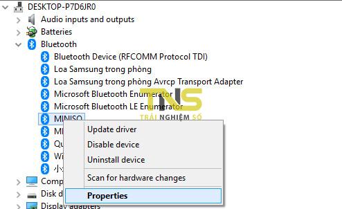 Cách tra cứu địa chỉ bluetooth các thiết bị trên Windows 10 3